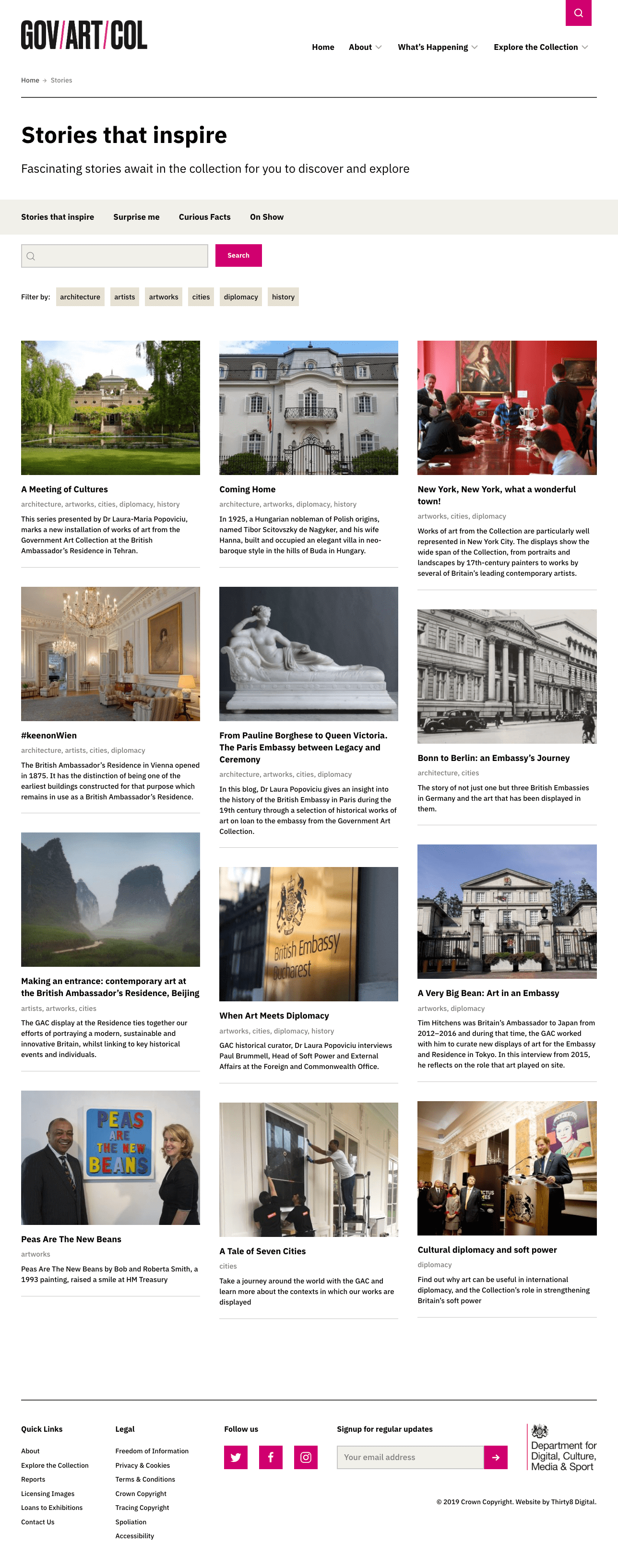 Government Art Collection Stories