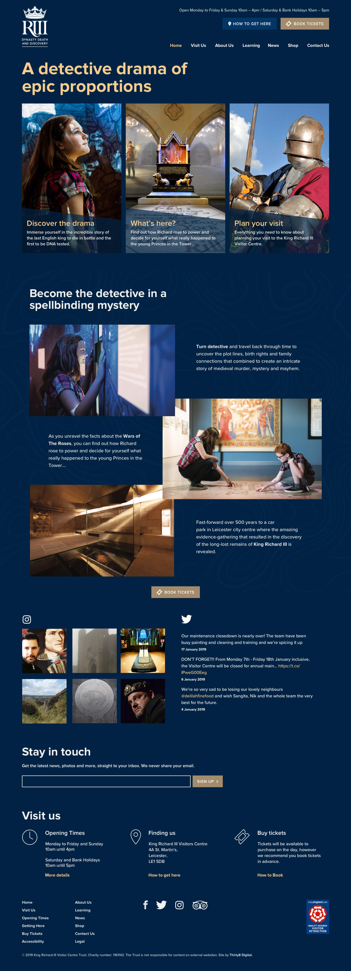 KRIII homepage design